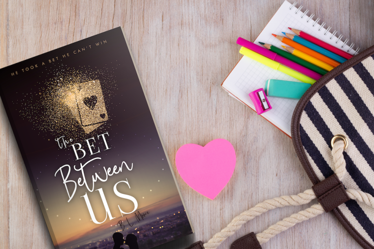 The Bet Between Us - BLM - 3D render Promo Graphic Blank