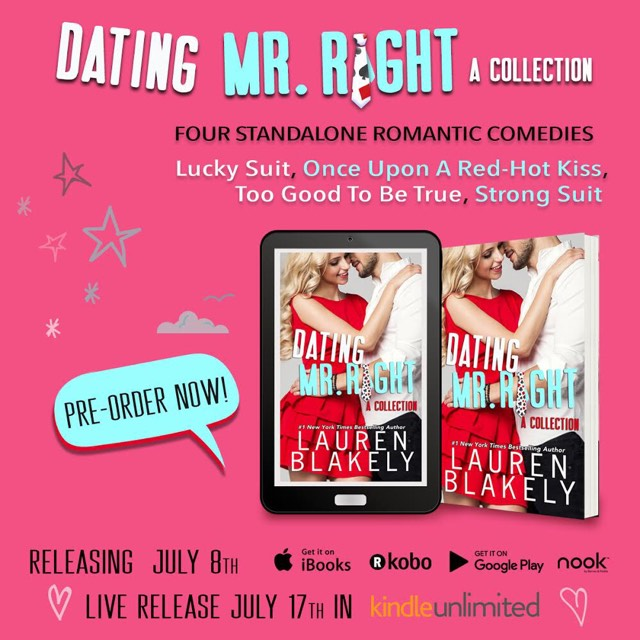 Dating Mr. Right PReorder graphic