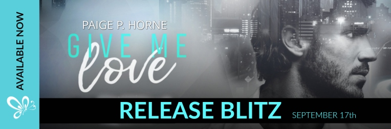 RELEASE BLITZ BANNER GIVE ME SERIES
