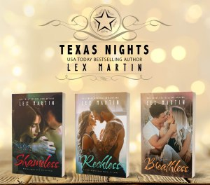 Texas Nights Series_paperbacks_small