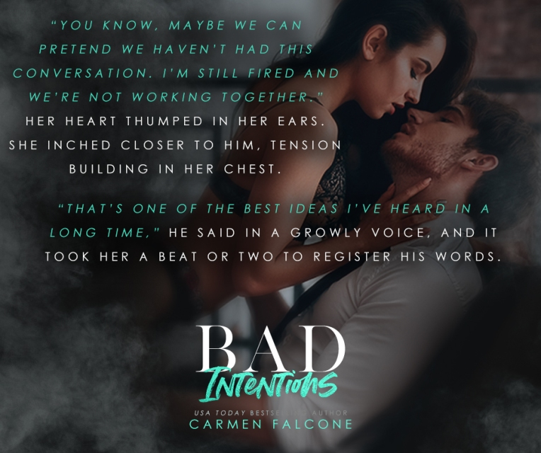 Bad Intentions Book 1 Teaser 1