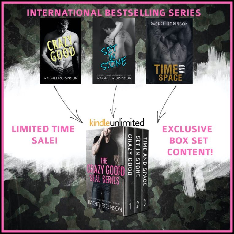 The Crazy Good Seal Series Graphic